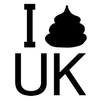 I ウンコ UK Tシャツ