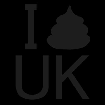 I ウンコ UK Tシャツ(ブラック)