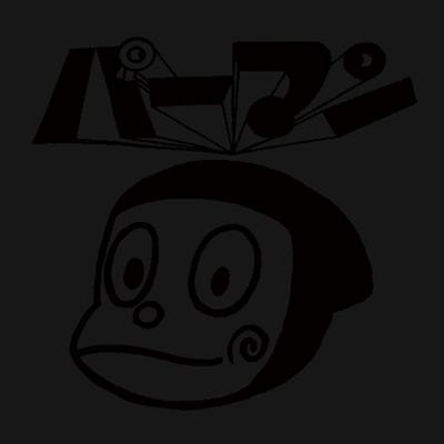 パーマン七分袖Tシャツ(BK)